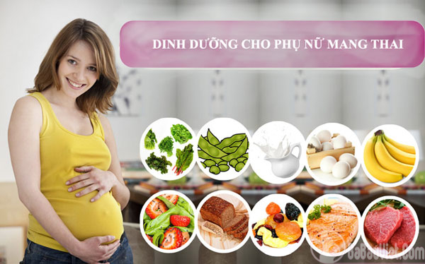 Chế độ dinh dưỡng cho phụ nữ để chuẩn bị mang thai