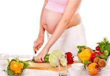 Dinh dưỡng cho mẹ bầu theo từng giai đoạn mang thai