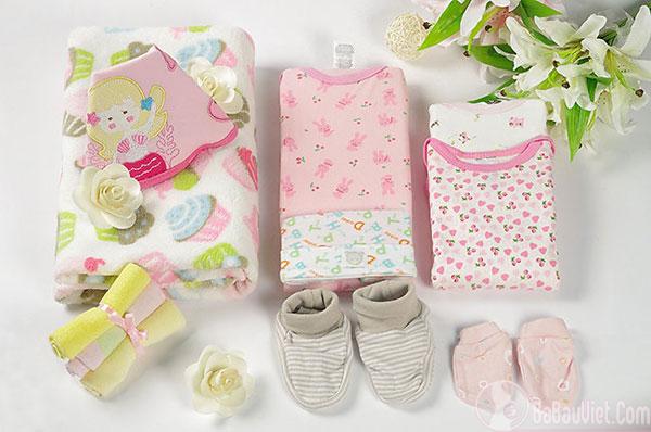 Chuẩn bị đồ dùng cần thiết cho trẻ sơ sinh