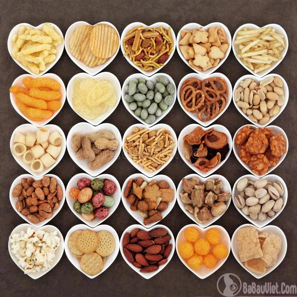 Thực phẩm có vị mặn có thể cải thiện tình trạng ốm nghén