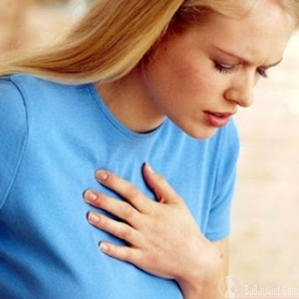 Dấu hiệu có thai: cảm thấy khó thở