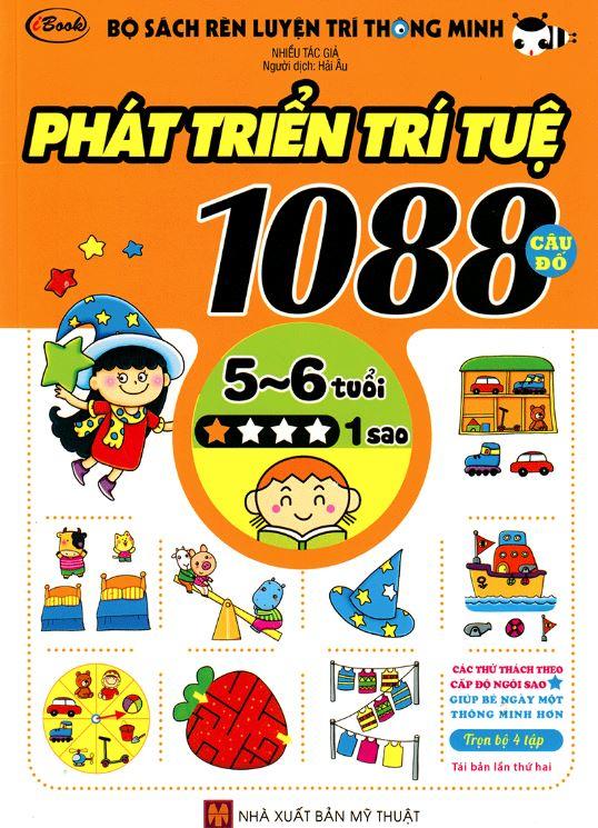 Sách câu đố phát triên trí tuệ cho bé từ 5 6 tuổi