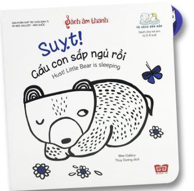 sách âm thanh Suỵt Gấu con sắp ngủ rồi babauviet