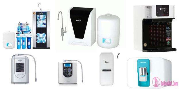 [Tư vấn] Nên mua máy lọc nước loại nào tốt nhất RO, Nano, điện giải?