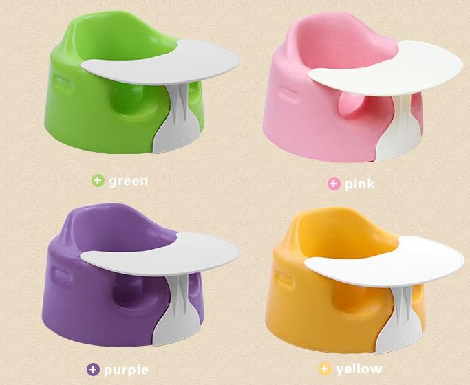 Ghế tập ngồi nhựa thiết kế nhiều màu sắc cho bé trai và gái
