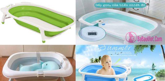 Review chậu tắm rửa gấp gọn đa năng, thông minh tốt nhất cho bé