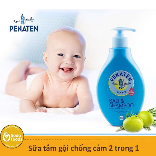 Sữa tắm gội chống cảm 2 trong 1 Penaten Baby