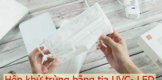 Review hộp khử trùng đa năng, tiệt trùng điện thoại, khẩu trang, bàn chải đánh răng và nhiều vật dụng khác.