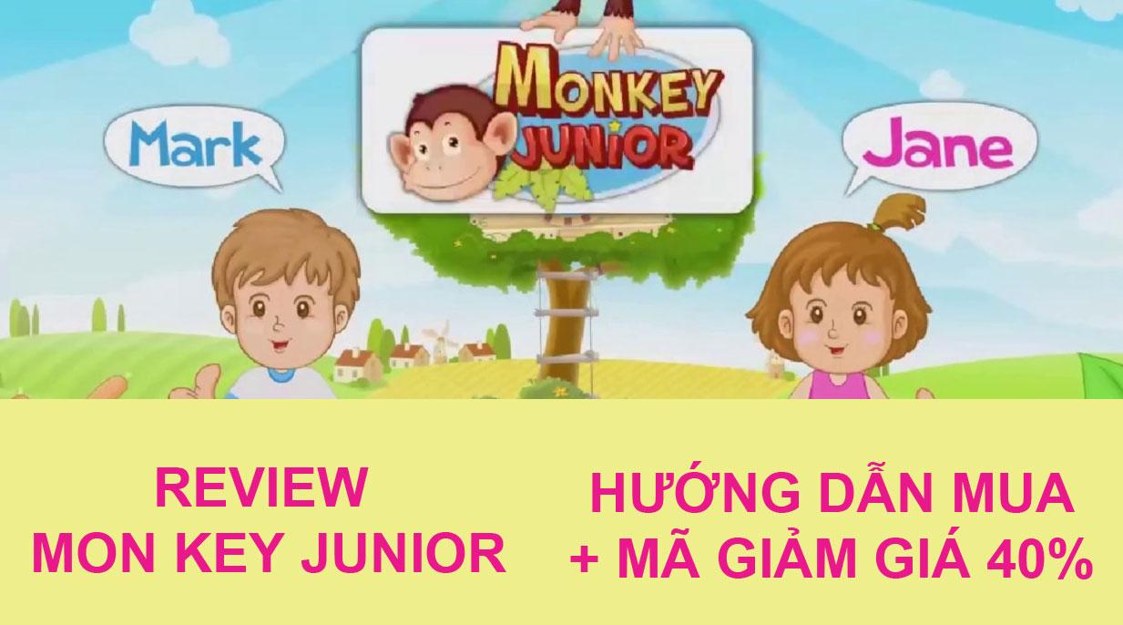 Review chi tiết về phần mềm Monkey Junior, cách mua với mã giảm giá 40%
