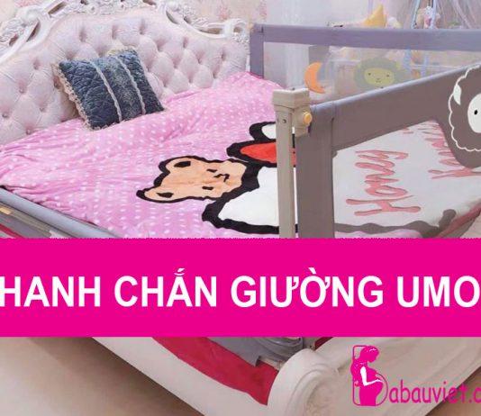 Review thanh chắn giường cho bé Umoo có tốt không, giá bao nhiêu, mua ở đâu tốt?