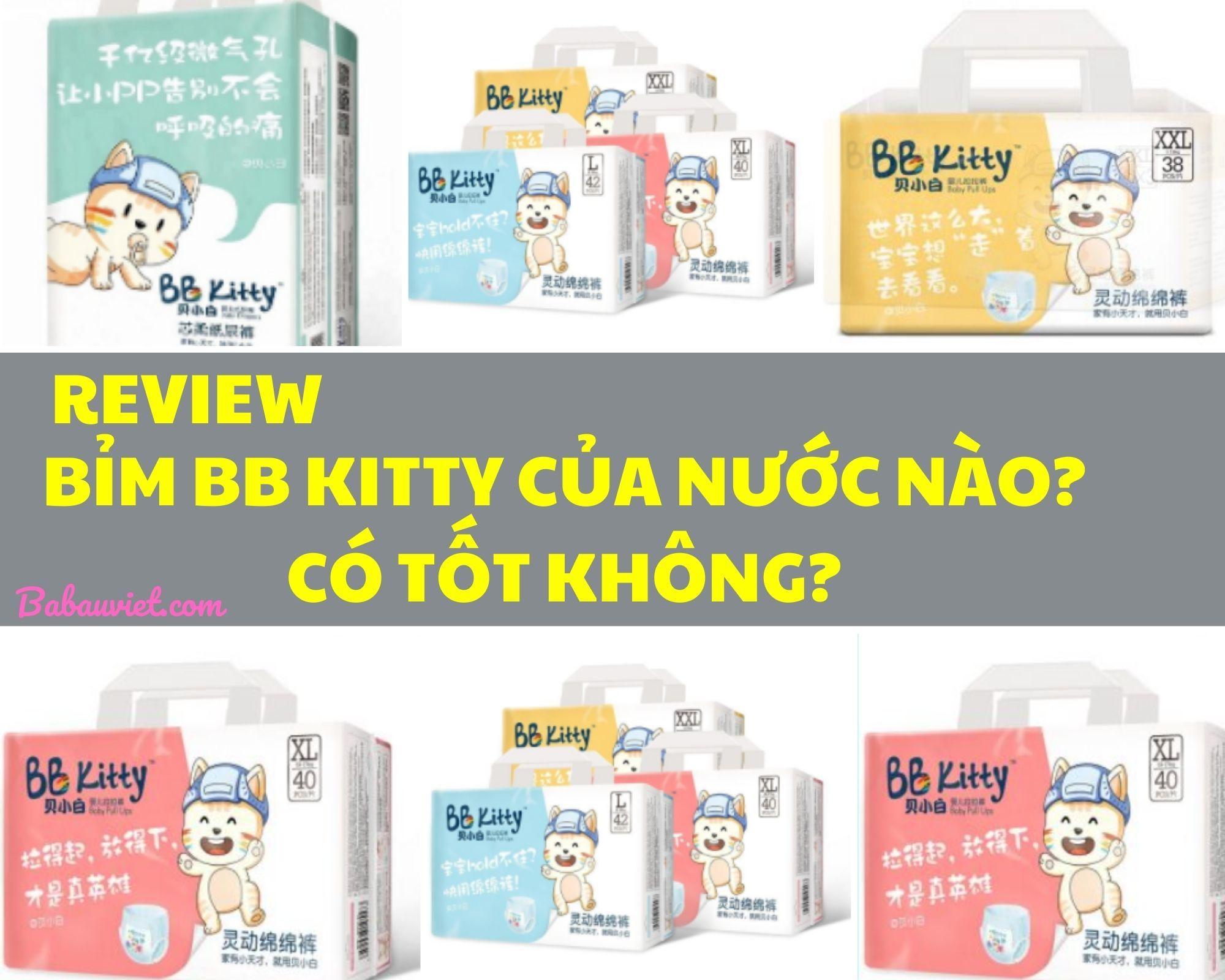 REVIEW BIM BB KITTY CUA NUOC NAO CO TOT KHONG