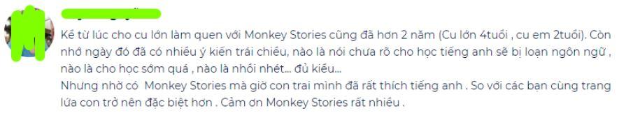 danh gia ve monkey stories
