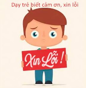 day tre cam on xin loi
