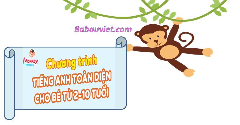 monkey cho be may tuoi