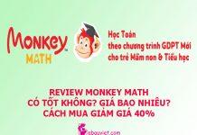 Review chi tiết về Monkey Math là gì, có tốt hay không, cách mua ứng dụng, phần mềm học toán tiếng Anh Monkey Math giảm giá 40%, dùng thử miễn phí.