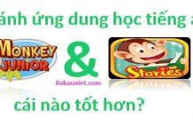 so sanh monkey junior va monkey stories cai nao tot hon