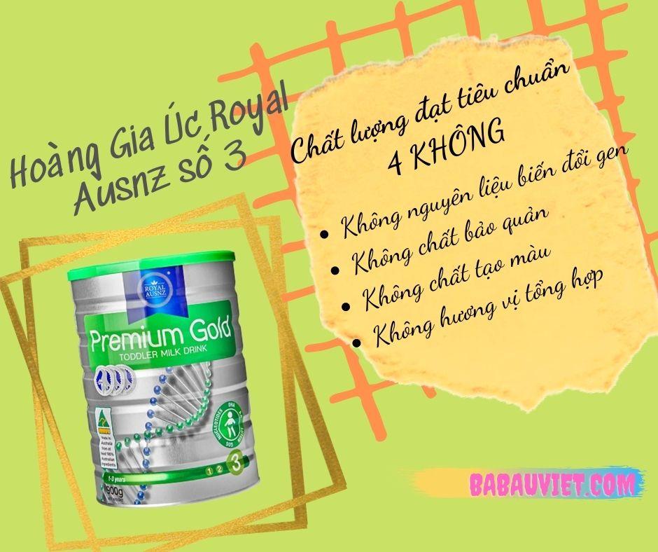 Review sua Hoang Gia Uc Royal Ausnz so 3