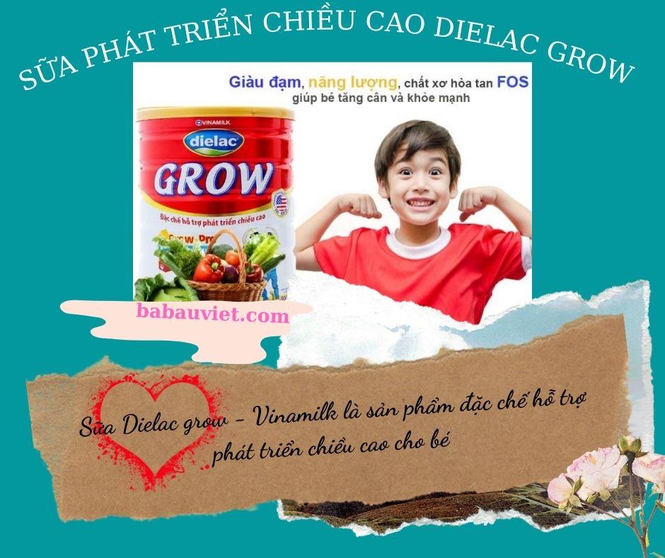 sua phat trien chieu cao Dielac grow