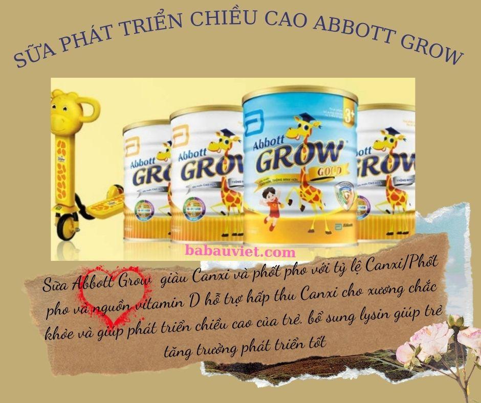 sua phat trien chieu cao abbot grow